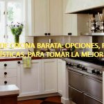 Reforma de Cocina Barata: opciones, precios y características, para tomar la mejor decisión