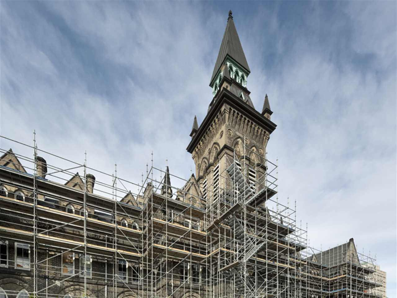 reconstrucción o restauración patrimonial