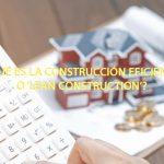 ¿Qué es la construcción eficiente o 'lean construction'?