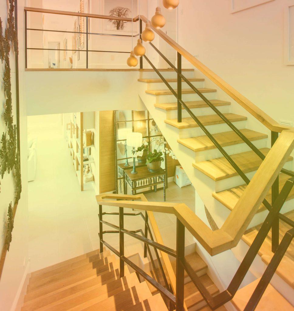 diseño de escalera para hogar