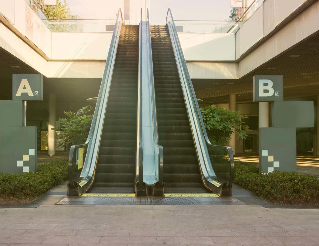 escaleras para locales comerciales