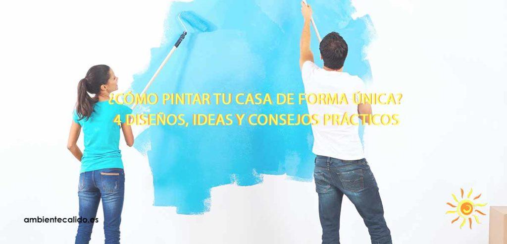 como pintar tu casa