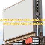¿Cómo hacer un cartel publicitario para promocionar tu negocio?