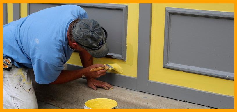 aplicación de pintura industrial