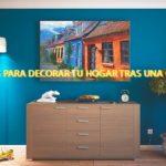 4 ideas para decorar tu hogar tras una reforma
