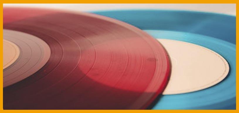 remodelacion de casa con discos de vinilo